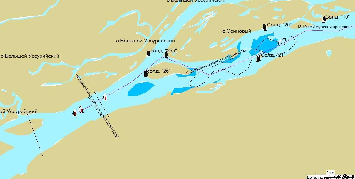 рыболовные участки амура